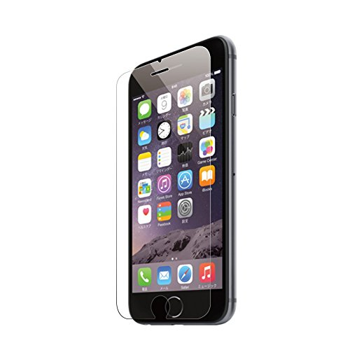 ブルーライトカット フィルム 強化ガラス iPhone 6s / iphone 6 ( iphone6s iphone6 ) 液晶保護フィルム ブルーライト カット ガラスフィルム 保護フィルム 90% カット 保護シート 【日本製素材】薄さ0.3mm  新設計 3D touch 対応 60日間返金保証 4.7インチ 超耐久 超薄型 アップル apple アイフォン6s iphone6 シックスエス 高透過率液晶保護フィルム【表面硬度9H・ラウンド処理・飛散防止処理 国産ガラス採用 ……