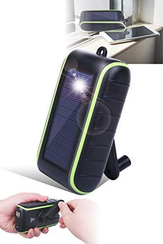 【公式】Chargi-Q mini(チャージックミニ)ソーラーチャージャー モバイルバッテリー 大容量 手回し 充電...