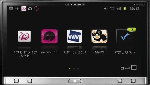 カロッツェリア(パイオニア) カーオーディオ 2Dメインユニット Bluetooth SPH-DA05
