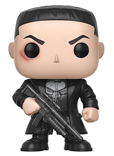Funko - Figurine Marvel Daredevil TV - Punisher Pop 10cm - 0889698110921