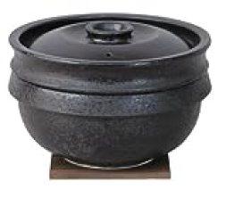 長谷園 陶珍かまど「極」 三合炊き NC-81
