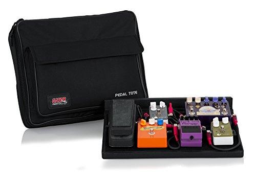 GATOR GPT-BLACK キャリーバッグ付きエフェクターボード (ゲーター) 持ち運びが楽なエフェクターバッグを選ぼう! オススメTOP10!