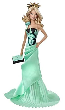 バービー ドール オブ ザ ワールド ランドマーク コレクション自由の女神 T3772 ピンクラベル   フィギュア・ドール 通販