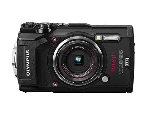 OLYMPUS デジタルカメラ  Tough TG-5 ブラック 1200万画素CMOS F2.0 15m 防水 100kgf耐荷重 GPS+電子コンパ...