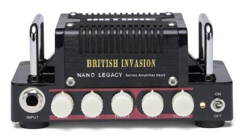 HOTONE BRITISH INVASION  ブリティッシュクランチ系 ギターアンプヘッド /トーンシェーピング用3バンドEQ、EFXループ、ヘッドフォンアウト、AUX イン搭載 /4〜16Ω対応 【国内正規品】 【440g~】超小型アンプ特集!小さく持ち運びも楽で良い音のする安い小型ヘッドアンプ!