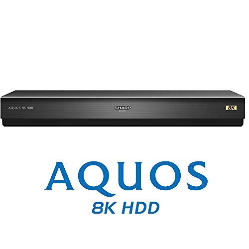 シャープ USBハードディスク 新4K8K衛星放送録画・再生対応 大容量8TB 8R-C80A1