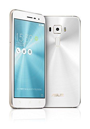 ASUS ZenFone3 SIMフリースマートフォン (ホワイト/5.2インチ)【日本正規代理店品】(オクタコアCPU/3GB/32G...
