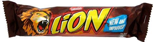 Nestle Lion Bar (ネスレ ライオンバー) 42g x 8 packs 【並行輸入品】【海外直送品】