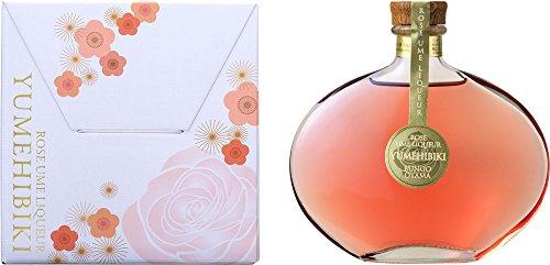 おおやま夢工房 薔薇梅酒 YUMEHIBIKI 200ml アルコール分12度 箱入り