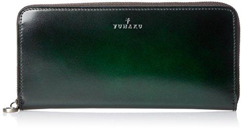 職人の手によって作られたユハクの財布を50代男性にプレゼント