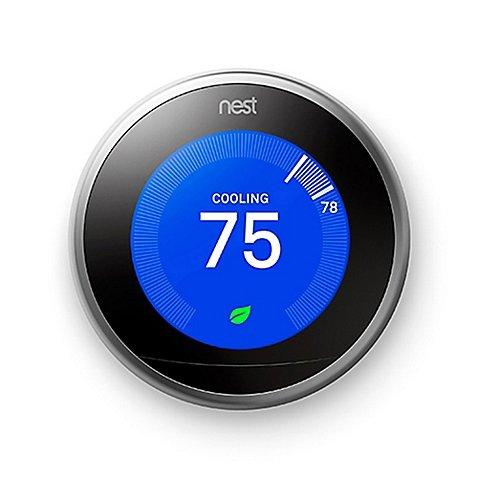 ネスト ラーニングサーモスタット 第3世代 / Nest Learning Thermostat - 3rd Generation T3007ES [並行輸入品]