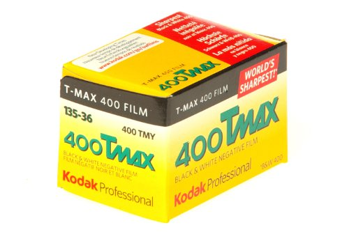 Kodak 白黒フィルム プロフェッショナル用 35mm T-MAX400 36枚 8947947