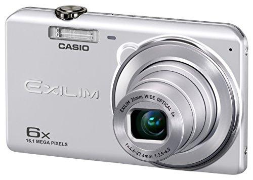 CASIO デジタルカメラ EXILIM 広角26mm 光学6倍ズーム EX-ZS29SR シルバー