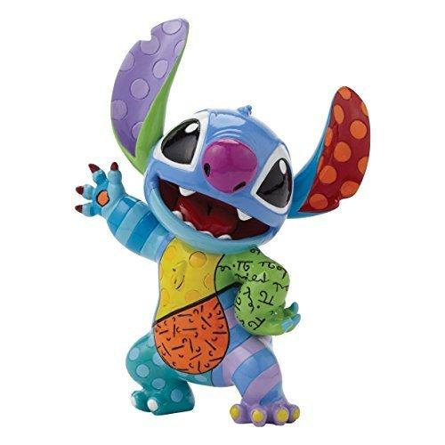 Enesco Disney BY Britto - Stitch Figurine by Romero Britto by Enesco [並行輸入品]