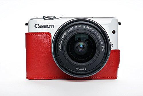 TP Canon キャノン EOS M10 用本革カメラケース 各種カラー