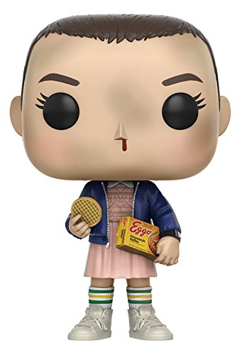 Funko - Figurine Stranger Things - Eleven With Eggos Pop 10cm - 0889698133180