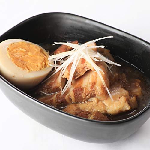 無添加 じっくりと煮込んだ 豚の角煮 【常温で長期保存】100g×10食セット / 本格的な家庭料理のお味 お弁当 非常食 保存食