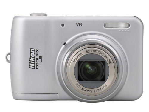 Nikon Coolpix l57.2MPデジタルカメラwith 5x光学式振動Reductionズーム