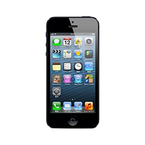 iPhone 5 16GB au ブラックスレート
