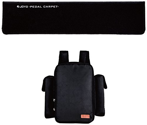 JOYO ソフトペダルバッグ & ペダルカーペットセット PC-1 【軽い】ボードを背負えるエフェクターリュックが超便利!重いエフェクターボード機材で「手が疲れる」から「手が楽」になるオススメのエフェクターケース!