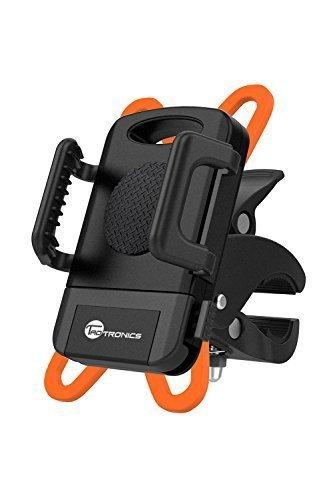TaoTronics 自転車ホルダー 360度回転可/装着簡単/片手操作/GPS,ナビ,スマホ等固定用 iPhone & Android等多機種対応 TT-SH013 ブラック