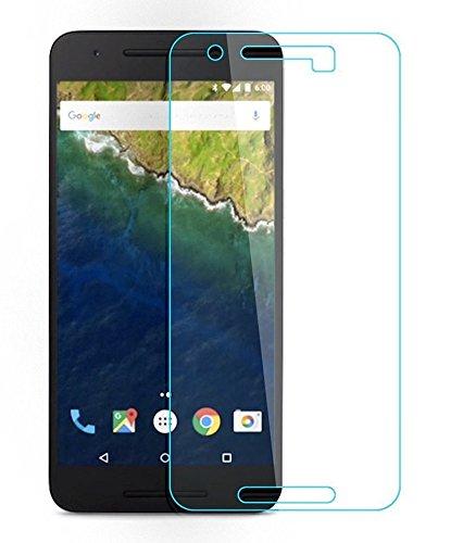 Lakko Google / HuaWei 2015 Nexus 6P 強化ガラスフィルム 5.7インチ ネクサス6P 液晶保護 日本板硝子社国産ガラス採用