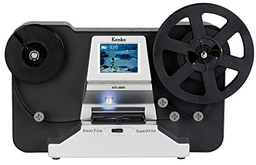 Kenko フィルムコンバーター KFS-888V 8mmフィルム用 1440×1080/30fps リールサイズ3号/5号対応 SDカードスロット搭載 2.4型TFT液晶