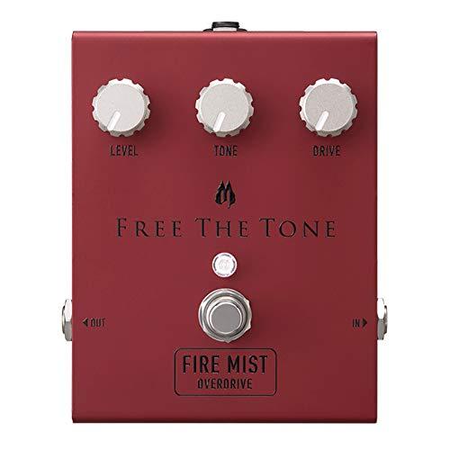 Free The Tone/FM-1V FIRE MIST オーバードライブ 【徹底紹介】綾野剛のエフェクターボード・機材を解析!ツマミ・ノブの位置も分かる!ギターを支える足元の機材の数々を紹介! #綾野剛 #thexxxxxx #ザシックス【金額一覧】