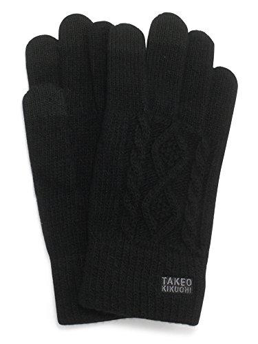 (タケオキクチ)TAKEO KIKUCHI 手袋 4016 メンズ 【01】BLACK
