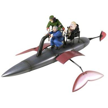 コミニカ エクセレントモデルコレクション 「ハウルの動く城」飛行カヤック