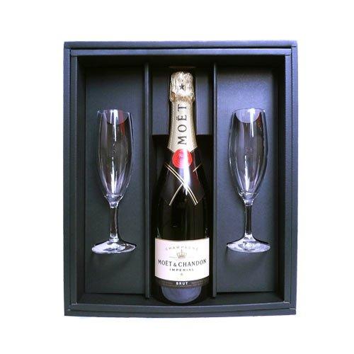シャンパングラス2本セットはお酒が好きな女性が貰ってうれしいプレゼント