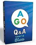 AGO Q&A ブルー レベル1.5 英語 カードゲーム