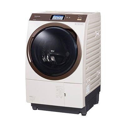 パナソニック 【左開き】11.0kgドラム式洗濯乾燥機 ノーブルシャンパン NA-VX9800L-N