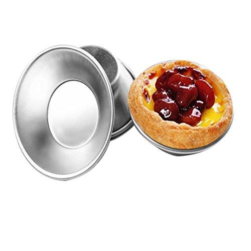 ノンスティックエッグタルト型カップケーキクッキープディング型ベーキングツール 卸売 1個