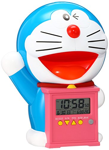 ドラえもんの目覚まし時計を小学生にプレゼント
