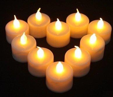 (ヴィルヌーヴ) villeneuve 火が出ない安全キャンドル LED キャンドル ライト (12個セット)