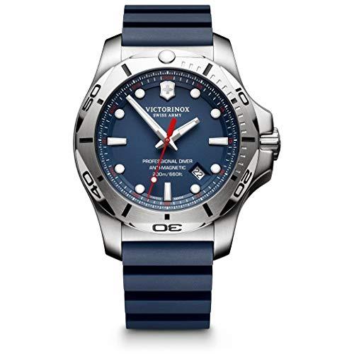 [ビクトリノックス]VICTORINOX 腕時計 メンズ I.N.O.X. プロフェッショナルダイバー PROFESSIONAL DIVER 241734 ブルー ラバーベルト メンズ [正規輸入品] …