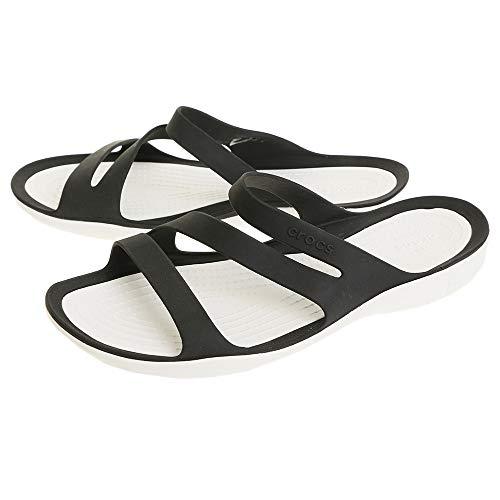 クロックス(クロックス) スウィフトウォーター サンダル(Swiftwater Sandal) Blk #P203998-066 (ブラック/22.0/Lady's)