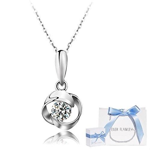 お母さんにスワロフスキーのネックレスをプレゼント
