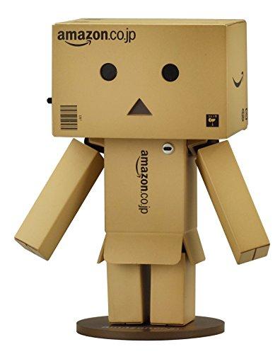 【Amazon.co.jp限定】 海洋堂 リボルテックダンボー・ミニ Amazon.co.jpボックスver (リボコンテナ入り/ダンボールカラー) Amazonギフト券のボックスタイプが超カワイイ!プレゼント・贈り物に最適でオススメ!