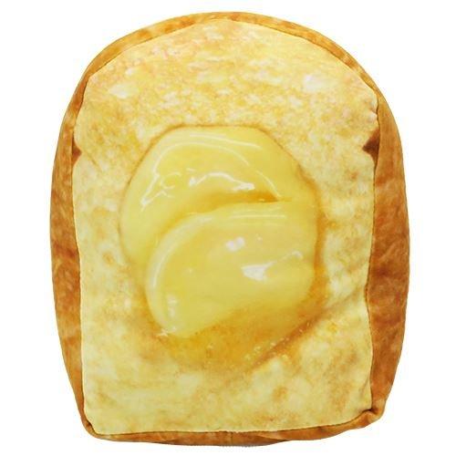 たっぷりバター トースト[クッション枕]まるでパンみたいな もちもちピロー
