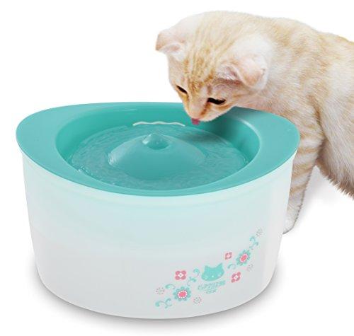 ジェックス ピュアクリスタル 全猫用 ガーリーグリーン 【フィルター式(循環式)給水器】