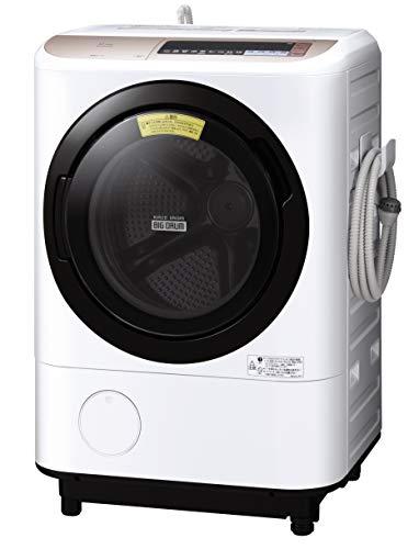 日立 ドラム式洗濯乾燥機 ビッグドラム 12kg シャンパン BD-NX120BL N