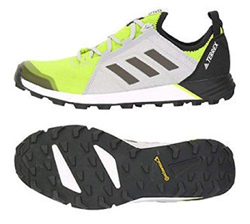 アディダス (adidas) 軽量トレイルランニングシューズ 27.0cm テレックス TERREX AGRAVIC SPEED 国内正規品 S80863 セミソーラーイエロー