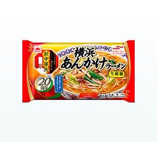 ニチロ 横浜あんかけラーメンX12袋 冷凍食品 -