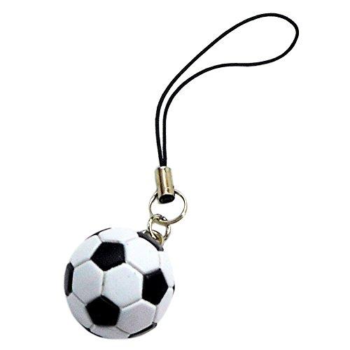 17664/CORE/スポーツ「球技」ストラップ(サッカーボール)/マスコット/チャーム/玩具/おもちゃ/フィギュア/ギフト/プレゼント