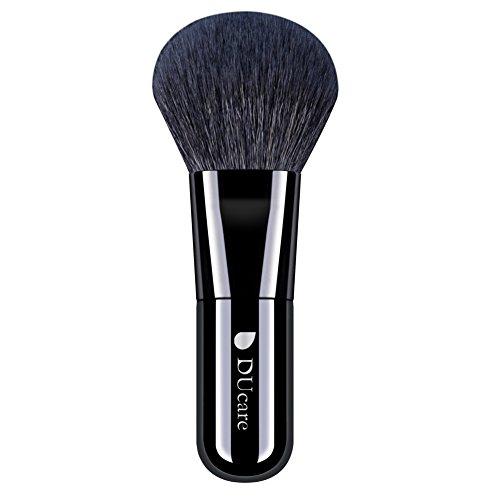 DUcare ドゥケア 化粧筆 メイクブラシ フェイスブラシ パウダー&チークブラシ 高級山羊毛 中光峰を100% 使用 同シリーズでファンデーションブラシあり
