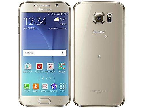 SAMSUNG Galaxy S6 SC-05G docomo Gold Platinum 白ロム