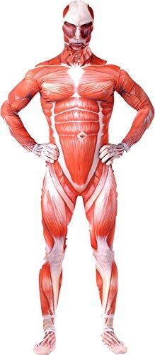 進撃の巨人 超大型巨人 全身タイツ キャラクターポストカード付き コスチューム Lサイズ