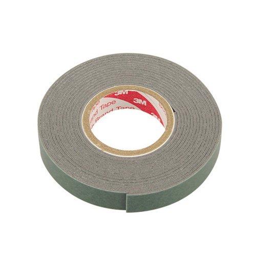 エーモン 超強力両面テープ (ミラーカバー・エアロアンテナなどに) 車外用 グレー 幅10mm×長さ2m×厚さ1mm 3912